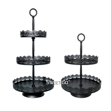2 tiers cupcake stand cake decorating tools for dessert decorator party event supplier home decoration bakeware Kitchen& bar