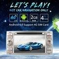 """7 """"Painel de prata Android 6.0 (64bit) DDR3 2G/4G LTE GPS Carro DVD Unidade de Cabeça de Rádio Para Ford C-MAX/S-MAX/Connect (2007 ~ 2009) #4997-F4"""