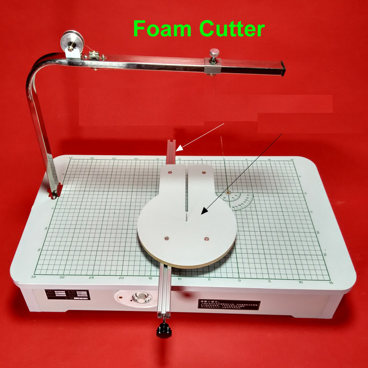 High Quality 220V Hot wire foam cutter Foam cutting machine table tool 59cmx33cmx23cm best price mgehr1212 2 slot cutter external grooving tool holder turning tool no insert hot sale brand new
