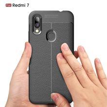 Xiaomi Redmi 7 Case Shockproof Carbon Fiber Silicone Soft Phone Case For Xiaomi Redmi 7 Back Cover For Xiaomi Redmi 7 Fundas все цены