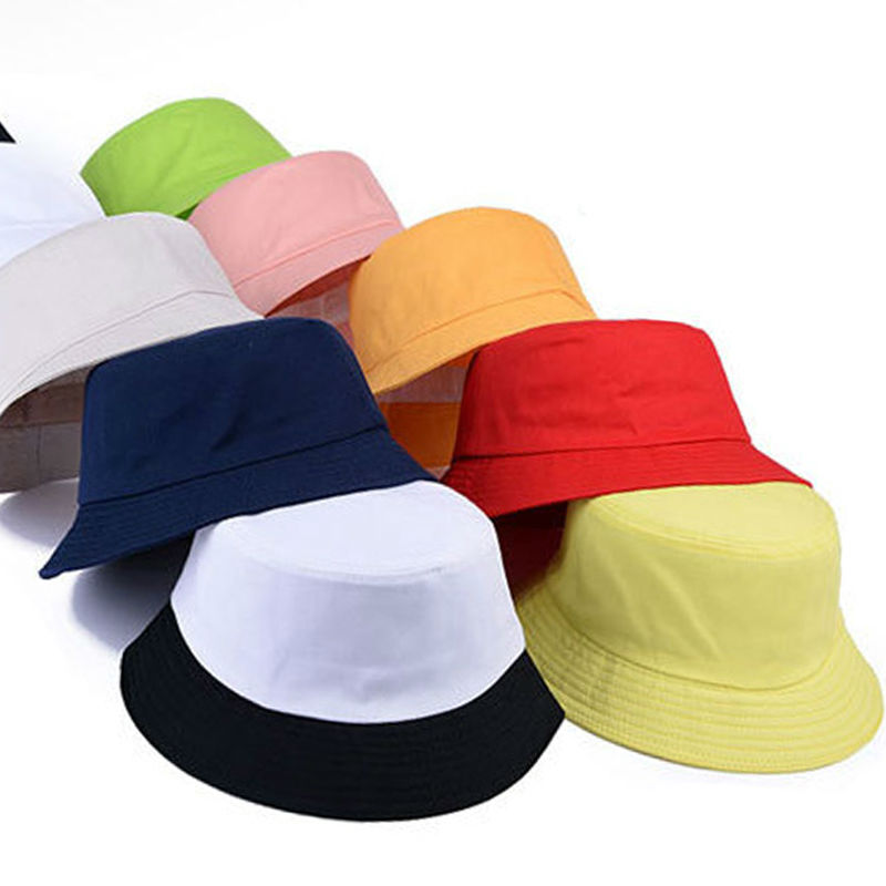 New Fashion Summer Caps for Men Women Man s Round Boonie Hats for Military  Camping Outdoor solid Sun Hat-in Bucket Hats from Apparel Accessories on ... ab00282fa8e