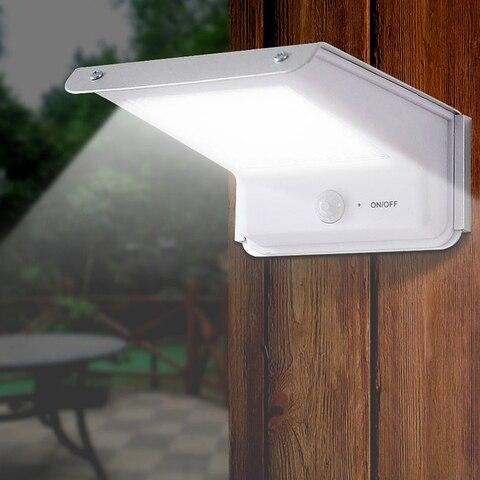 4 pcs 20 led solar luz pir