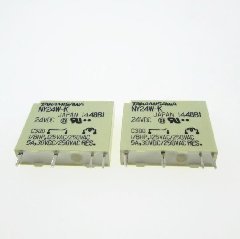 HOT NEW 24V relay NY24W-K NY24W 24W-K 24W 24V 24VDC DC24V 5A 250VAC DIP4HOT NEW 24V relay NY24W-K NY24W 24W-K 24W 24V 24VDC DC24V 5A 250VAC DIP4