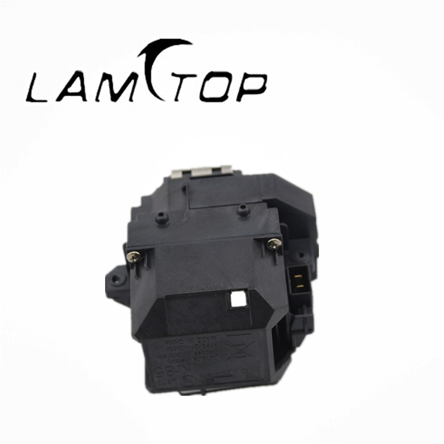 Free shipping   LAMTOP  Projector lamp with cage/housing    ELPLP58  for  PowerLite X9 free shipping lamtop projector lamp with housing cage elplp40 for emp1815