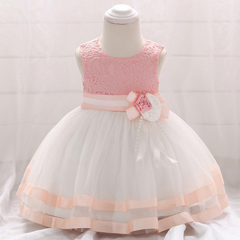 3135 Embroidery Brithday Toddler Princess Party Wedding Girls Dress A-line Kids Dresses For Girls Wholesale Children Clothing 3P