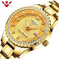 NIBOSI часы для влюбленных Relogio Feminino для мужчин часы лучший бренд класса люкс для женщин часы золотые кварцевые подарок часы Дамская