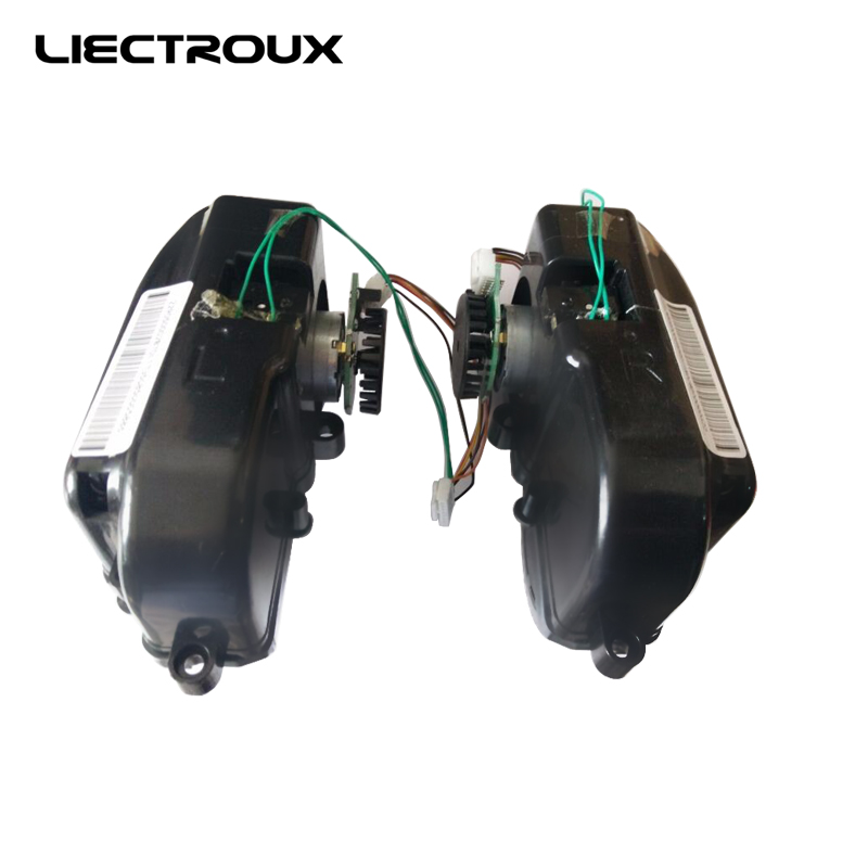 (For B6009) Left & Right Wheel Assembly for Robot Vacuum Cleaner, 1 Pack Includes 1*Left Wheel + 1 Right Wheel for b6009 left