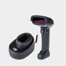 433 Wireless barcode scanner with base laser barcode scanner for super market store logistic bar gun high speed barcode reader