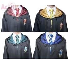 De alta Calidad de Harry Potter Gryffindor Robe Cosplay Niños Harry potter Adultos Robe capa 4 estilos Regalo de Halloween 11 TAMAÑO