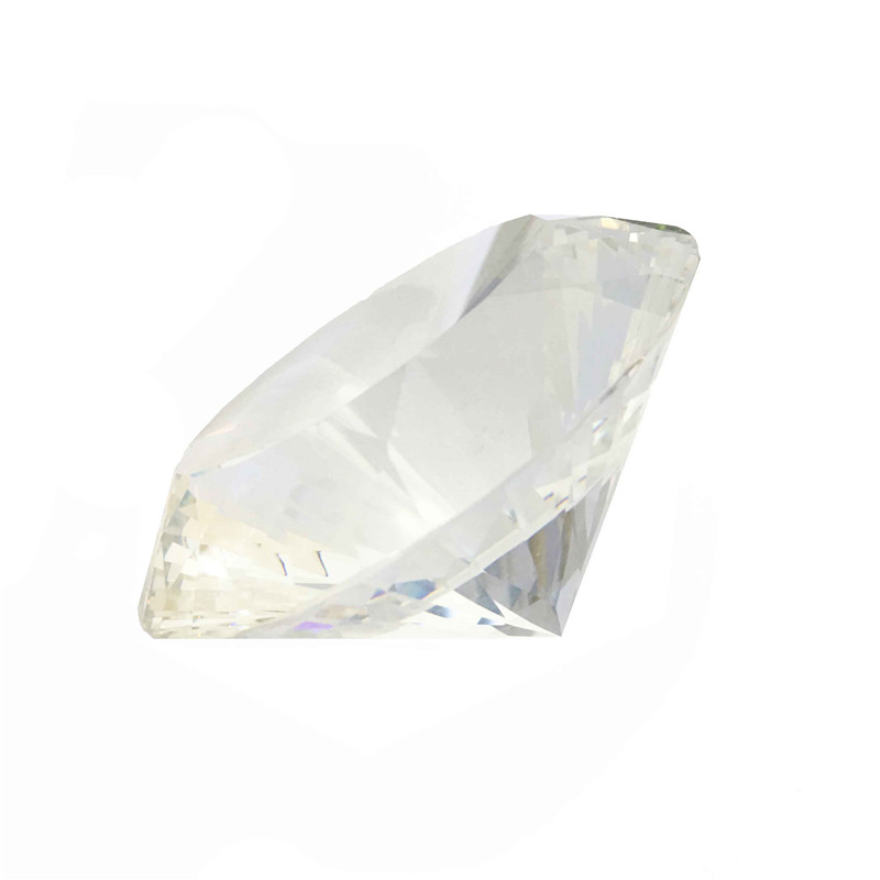 120mm 1pcs Multifaceted Clear Crystal Diamond Paperweight Crafts For Office Table Decoration New Arrival120mm 1pcs Multifaceted Clear Crystal Diamond Paperweight Crafts For Office Table Decoration New Arrival