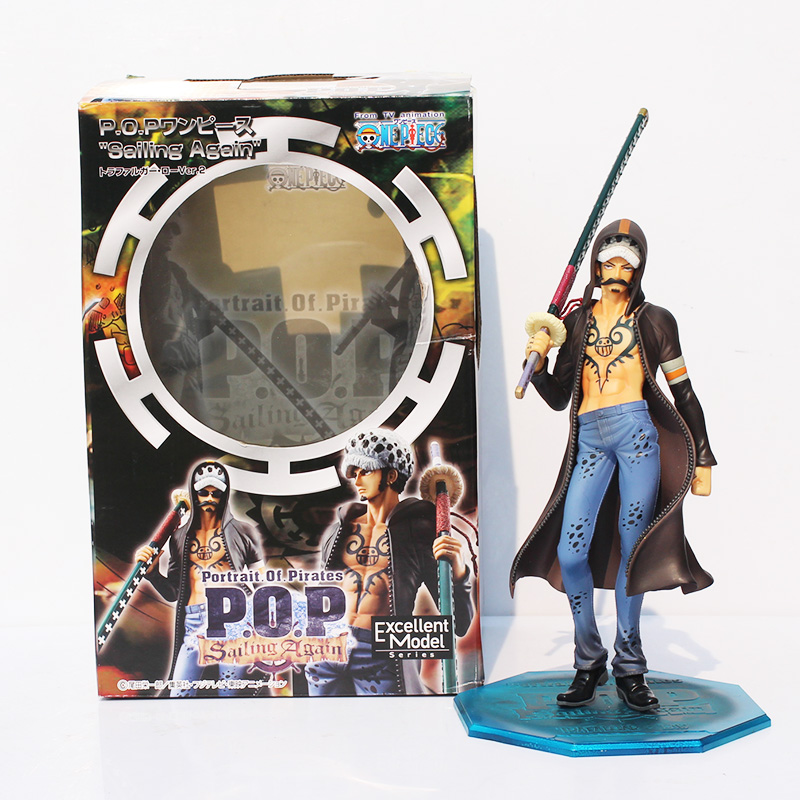 One Piece POP Limited Edition Trafalgar Law Ver.2.5 1/8 PVC Action Figure Collectible Toy 24CM  kunai pet anime one piece pop limited edition princess shirahoshi pvc action figure collectible model toy 28cm kt2369