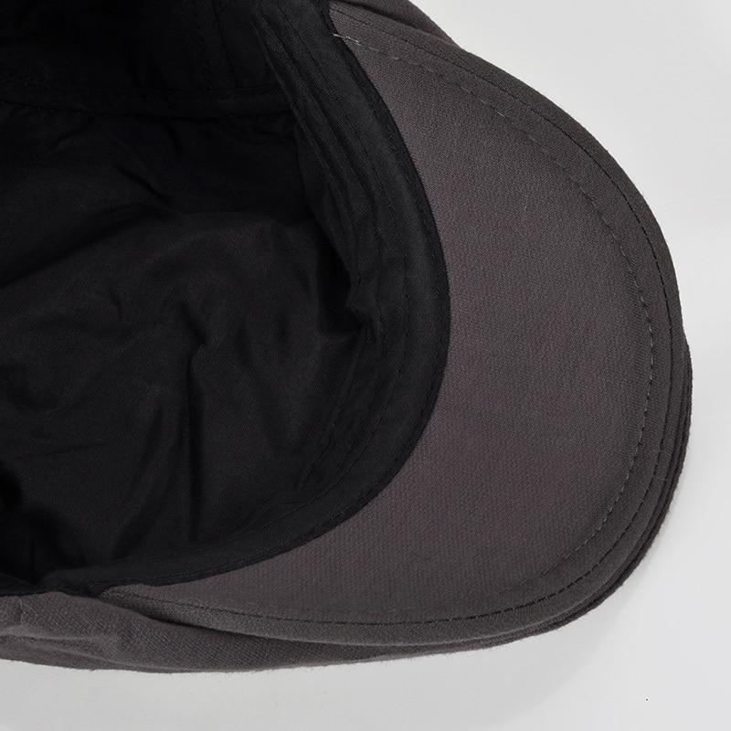 Vader cadeau mannelijke baretten Man Casual Flat piekmuts Midden - Kledingaccessoires - Foto 4