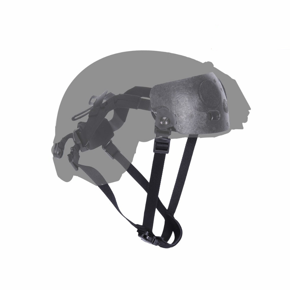 Helmet Hanging System for Fast BJ/PJ/MICH Helmets Tactical Helmet Liner & Suspension System Army Protective Hemet Accessories-in Hunting Gun Accessories from Sports & Entertainment