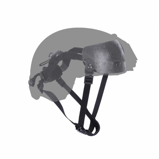 Helmet Hanging System for Fast BJ/PJ/MICH Helmets Tactical Helmet Liner & Suspension System Army Protective Hemet Accessories
