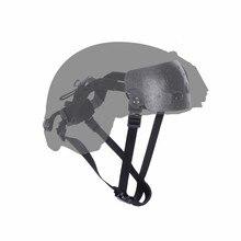 Sistema colgante de casco para cascos BJ rápido/PJ/MICH, revestimiento de casco táctico y sistema de suspensión, accesorios de casco de protección del ejército