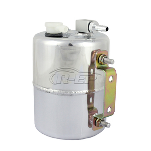 Image 5 - R EP Brake Booster Vacuum Pump Canister Reservoir Tank Aluminium Alloy Can Universal Fits for Chevy Mopar for Drift Track