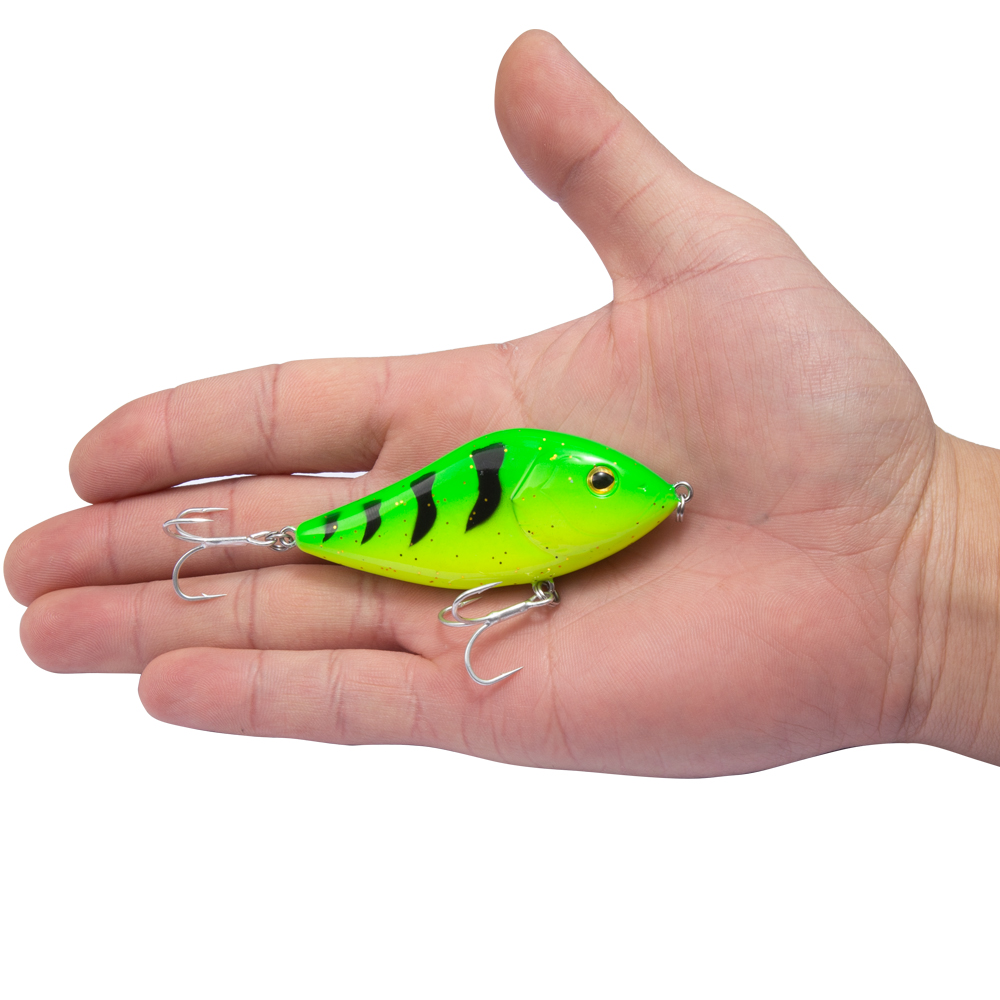 Image 4 - Hunthouse fishing lure pencil VIB jerkbait 7cm/17g 10cm/47g stickbait with VMC hook rainbow color for fishing bass pesca leurre-in Fishing Lures from Sports & Entertainment