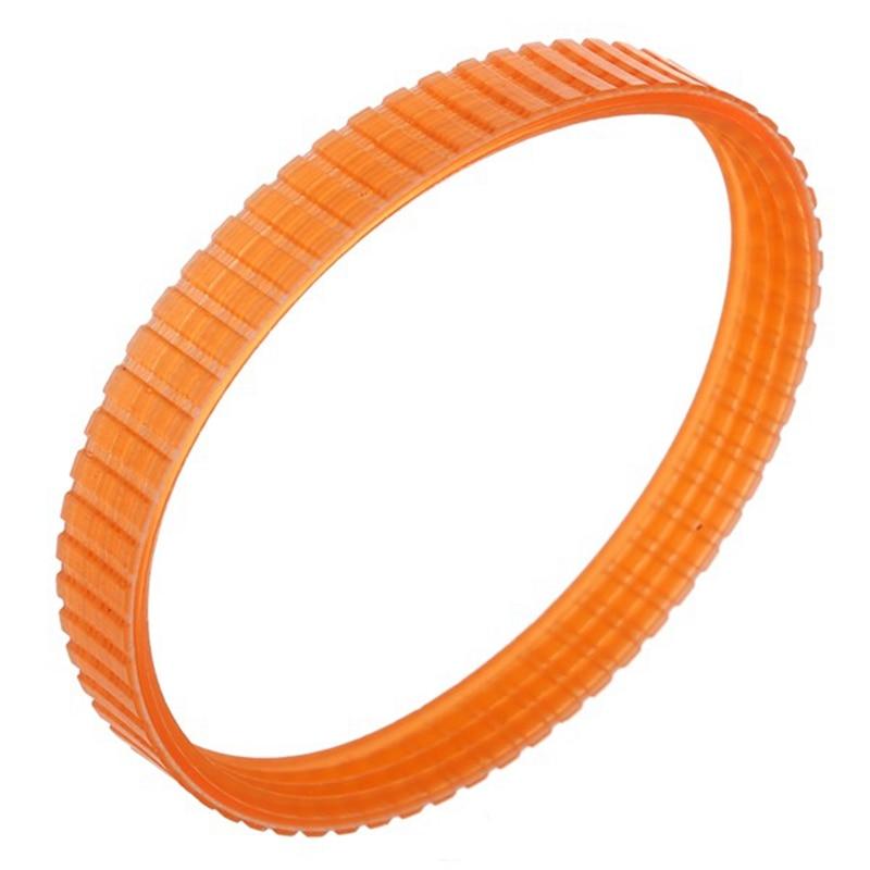 Electric Planer Drive Belt Durable Driving Belt Planer Replacement Toothed Belt Orange 1 Piece