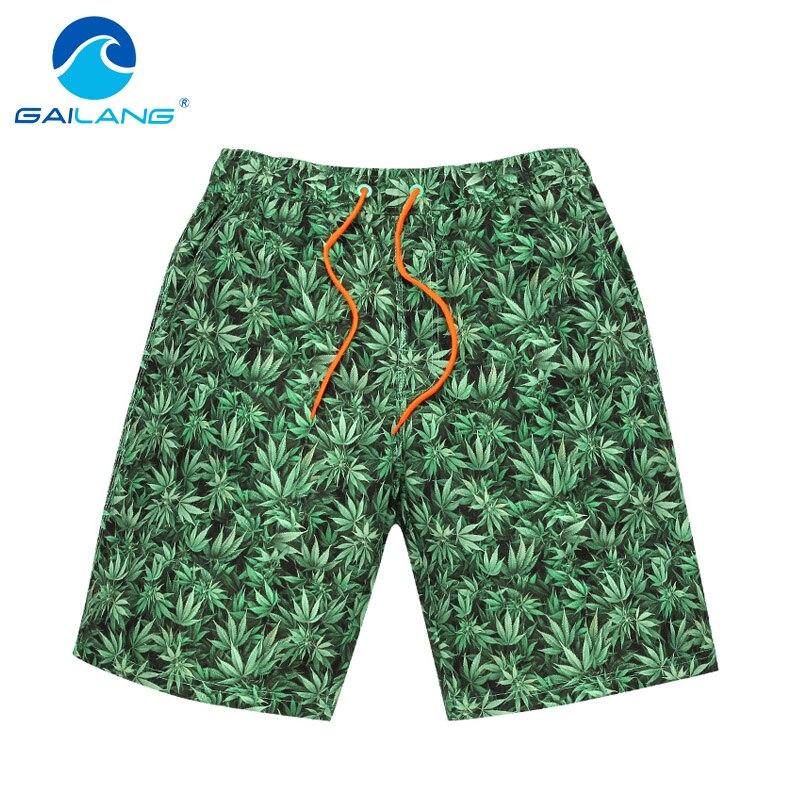 Gailang Brand Male Beach Shorts Casual Men Boardshorts Bermuda Board Shorts Gay Swimwear Swimsuits Quick Drying Boxer Trunks New