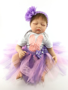 Soft Silicone Reborn Baby Doll Toys Lifelike