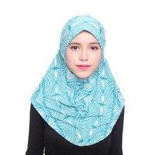Nova Cotada Headwear Das Senhoras Lenço de Cabeça Islâmico Muçulmano Tampa Interna Hijab Envoltório do Lenço do Xaile