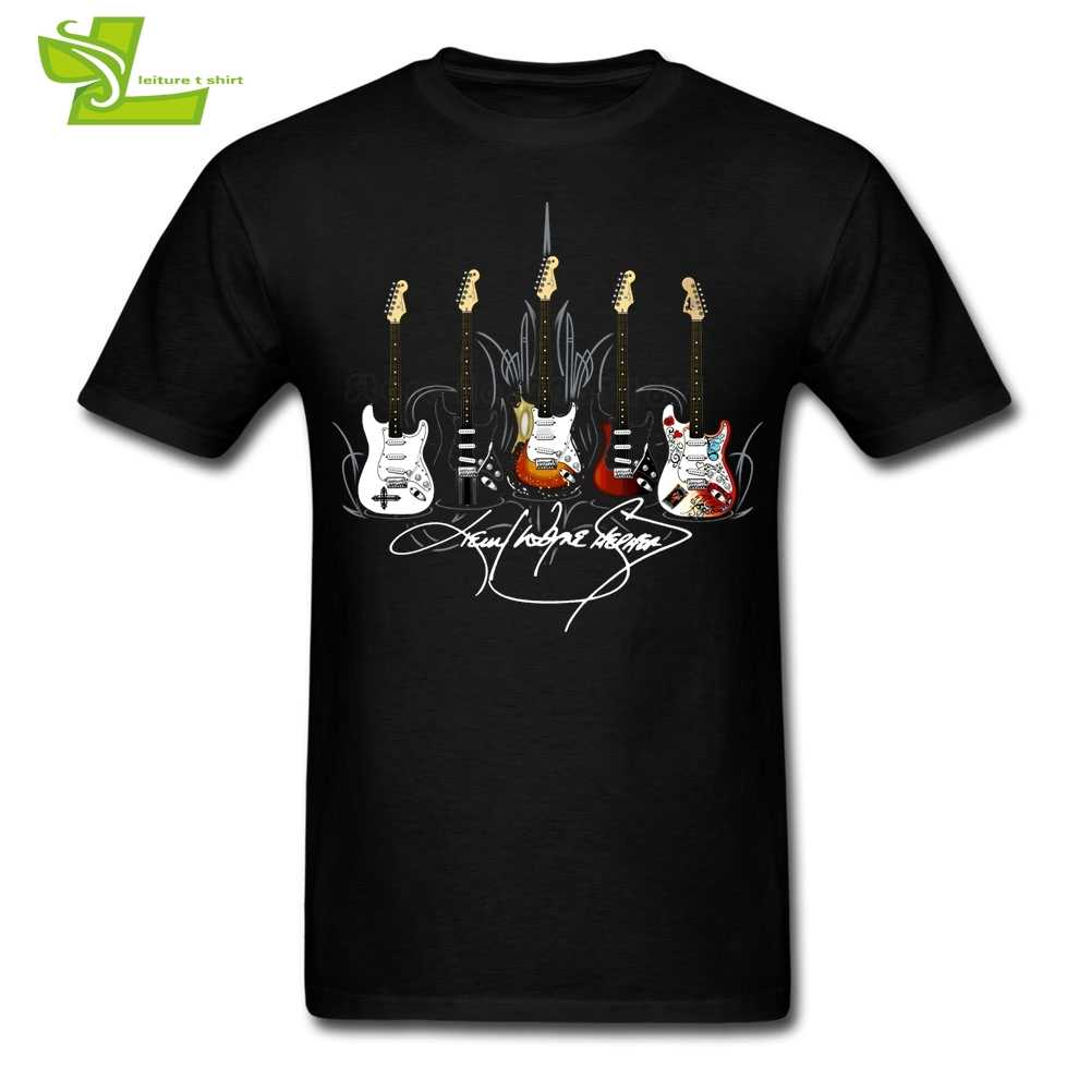 Signature Series Guitar T Shirt Guys Latest Tshirts Cool Customized Loose T-Shirts Men's Summer Round Neck Cheap Teenboys Top