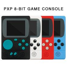 New PXP 8 bit Retro Video Game Console PVP270 PVP3000 Handheld Game Machine With 198 Classic Games For Kids Adults Portable