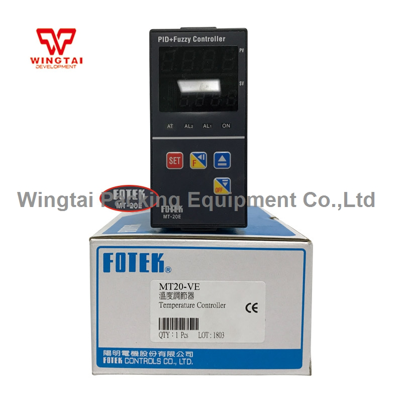 MT20-VE TAIWAN FOTEK Digital Temperature Controller PID+Fuzzy Thermostat Temperature Controller xmt9000 low price panel size 80 160 programmable pid digital intelligent industry temperature controller
