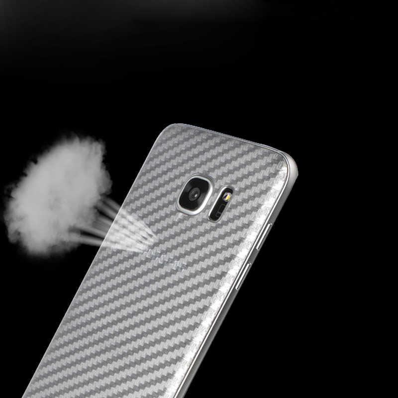 Ascromy ألياف الكربون عودة الجلد ملصقات الهاتف لسامسونج غالاكسي S7 حافة S7edge غالاكسي s7edge خلية حماية ملحقات الهاتف المحمول