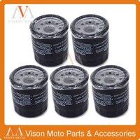 5PCS Motorcycle Oil Filter Cleaner For HONDA CB400 CB CBR NT VLX 400 CBR400 NT400 RVF400 VFR400 VLX400 CB500 CBF500 CB CBF 500