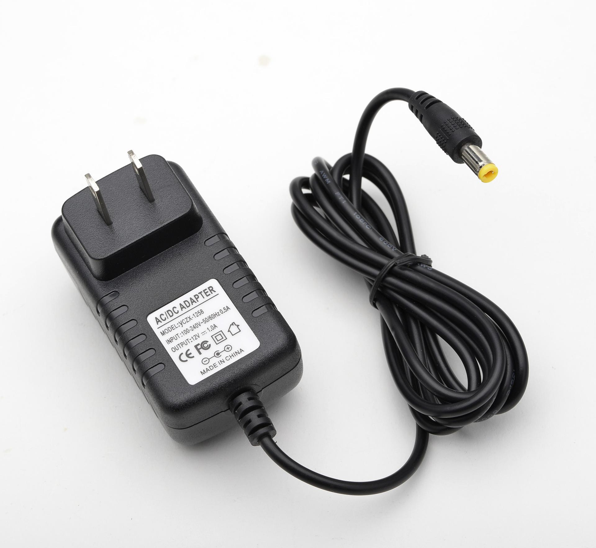 12V 2A AC/DC Adapter Power Supply for Security CCTV DVR Camera US dc 12v 5a ac adapter cctv power supply adapter box 1 to 8 port for the cctv surveillance camera system abs plastic