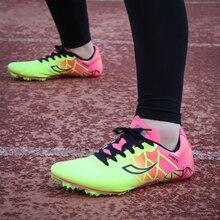 Мужская спортивная обувь; легкая мужская обувь с шипами для бега; цвет черный, синий; трекинговая обувь; сезон весна-осень; мужские кроссовки с шипами