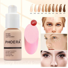 PHOERA Face Concealer Cream Full Cover Makeup Liquid Facial Corrector Waterproof Base Make Up for Eye Dark Circles CosmeticTSLM2(China)