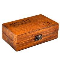SZS Hot Rubber Stamp Alphabet Number Symbol Wooden Box Set Print Style Wood Letter 70PCS
