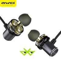 AWEI Newest X650BL Bluetooth Headphone Wireless Earphone Neckband Headset Casque Earpiece For Phones HIFI Fone De