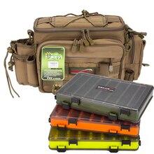 Fishing Bag 36x18x23cm Fishing Tackle Bags Waterproof Shoulder Backpack Hand Bags Crossbody Bolsa Articulos De Pesca A165 цены