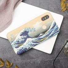 Japanese Edo period Kanagawa surfing wave Hard Shell case cover For
