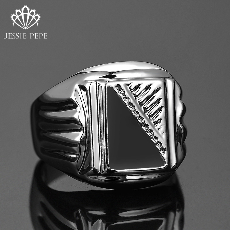 Jessie Pepe Size 8-12 New Arrival # 2016 Men Classic Big Size Ring Anels For Man Antique Plated Big Size Finger#J-02030