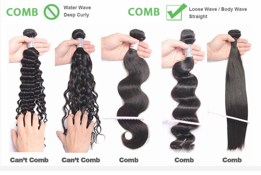 feixes de cabelo humano ofertas remy cor