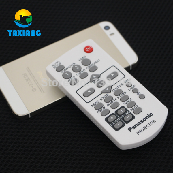NEW Original Projector Remote Control for Panasonic projectors PT-UX273C PT-X22 PT-BX40 PT-AE2000 PT-LM1 PT-PX660, ETC new original amplifier remote control rav283 for yamaha yht 280 yht 380 yht 685