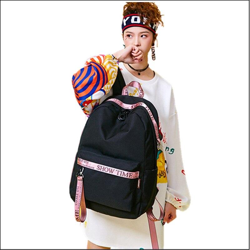2018 Women Backpack School Bag for Teenage Girls Mochila Feminina Backpacks Female Travel Laptop Bagpack Casual jf u printing backpack cute school bag korean style kpop rucksack women bookbags backpacks for teenage girls mochila feminina