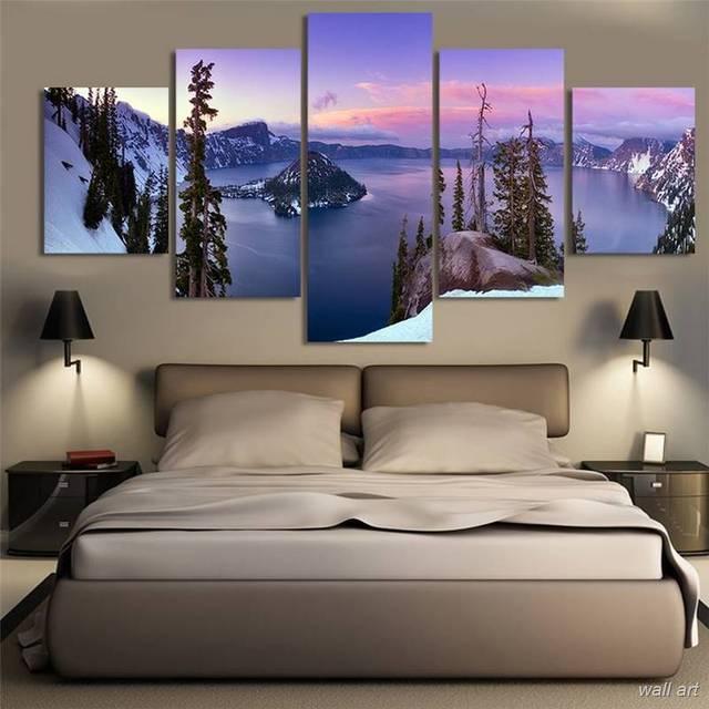 Toile Moderne Cadre Art Hd Imprimé Décoration Murale Photos
