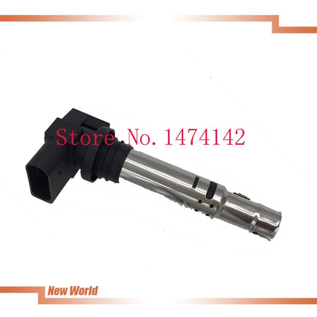 4pcs  036905715F Automobile ignition coil For VW Jetta Golf Polo Beetle Eos Caddy Tiguan Passat CC A3 S3 SIEGE 1.6FSI 1.4 T