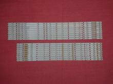 New Kit 18 PCS LED backlight strip for TOSHIBA 55L7453D SVT550AA0_REV04_R L Type 130710 E306084
