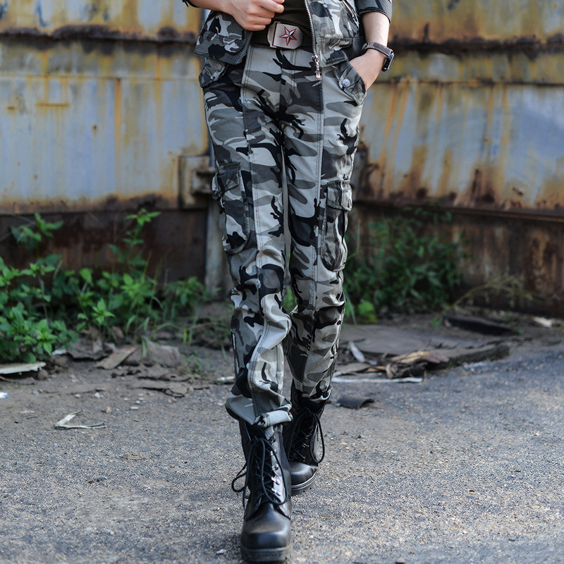 ФОТО Autumn Winter Outdoor Camping Women Camouflage Tactical Pants Thick Trekking Travelling Hiking Sports Trousers