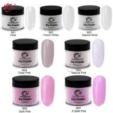 TP 28g/Box (1OZ) 29 Colors Dipping Powder No Lamp Cure Nails Dip Powders Red Gel Nail Powder Natural Dry For Nail Salon