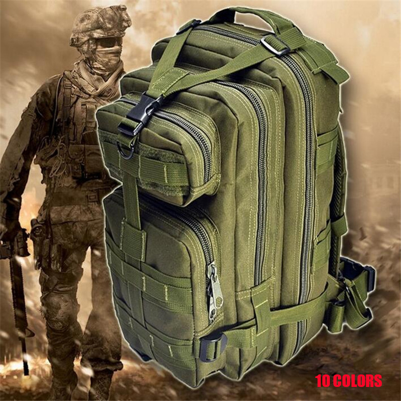 Multifunctional High Quality Nylon Backpack Camouflage Military Enthusiasts 3p Backpacks 20-35l Large Capacity  Travel Bags X011