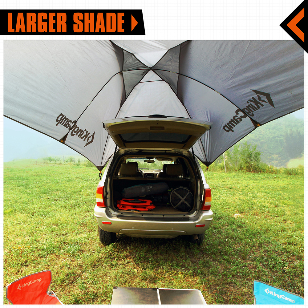 separation shoes 479c9 a53c2 KingCamp Multipurpose Car Tent Waterproof Pop Up Tent for 3 ...