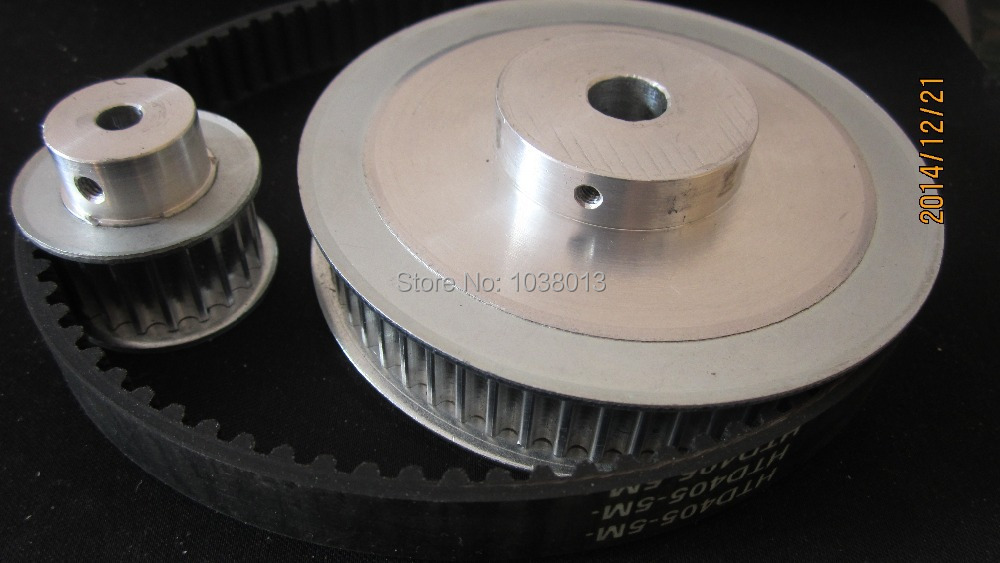 timing Belt Pulleys /Synchronous belt deceleration suite 3M (3:1) CNC Engraving Machine Parts sell by pack  free shipping timing belt pulleys synchronous belt synchronous pulley the suite of synchronous belt 3m 8 1