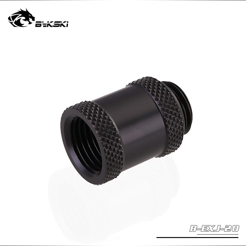 "Bykski G1//4/"" End Cap with Temperature Sensor B-PD5-TMR Black"